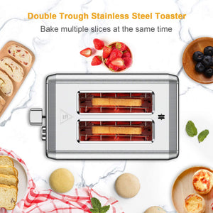 Toasters 2 Slice Best Rated Prime, whall Stainless Steel, Bagel Toaster - 6 Bread Shade