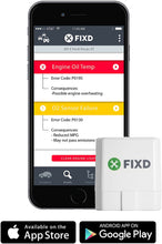 FIXD OBD2 Professional Bluetooth Scan Tool & Code Reader for iPhone and Android