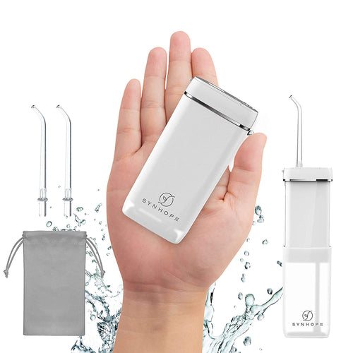 Water Flosser [Mini Cordless Portable] Oral Irrigator