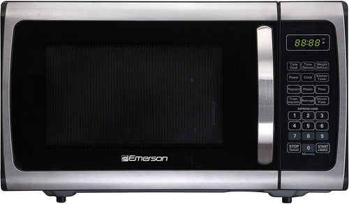 Emerson Radio Emerson ER105005 Single Microwave Oven-Stainless Steel