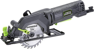 "4-1/2"" Compact Circular Saw with Vacuum Adapter, and Blade Wrench."