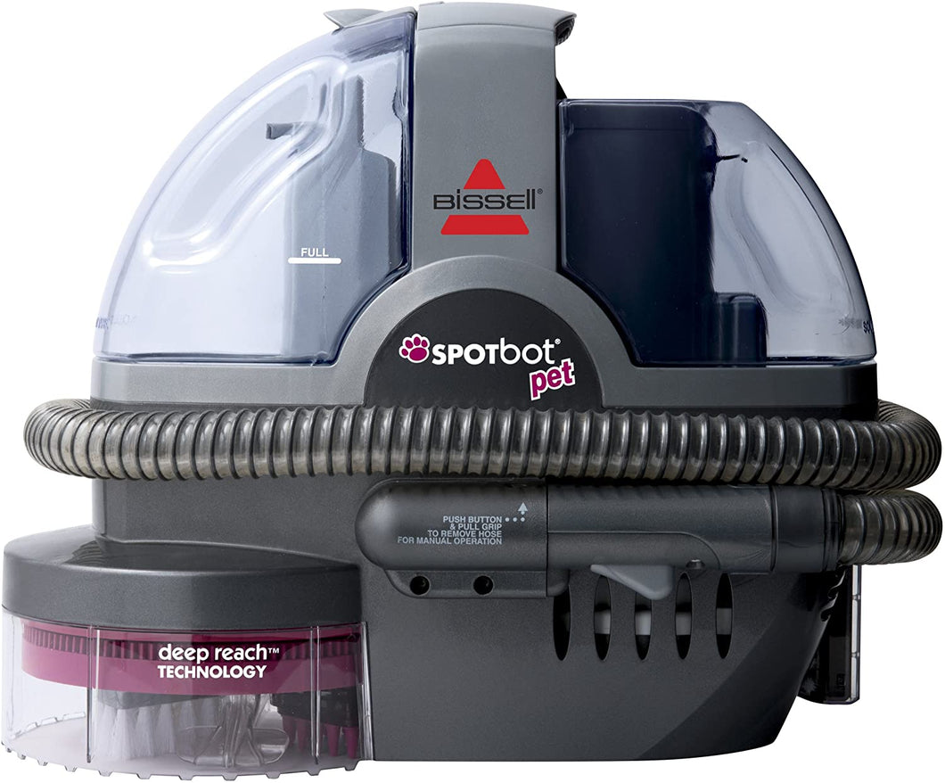 SpotBot Pet handsfree Spot and Stain Cleaner for Carpets, Rugs, & Upholsteries.