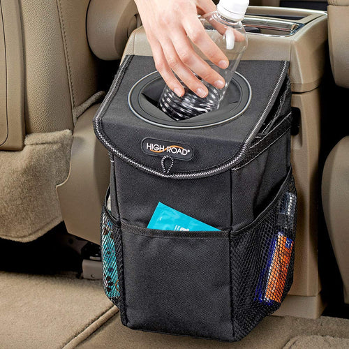 High Road StashAway Console and Headrest Car Trash Can