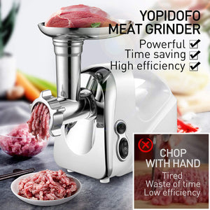Electric Meat Grinder Sausage Stuffer Meat Mincer【1200W Max】