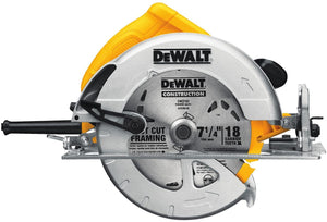 7-1/4 in. Lightweight Circular Saw, 5.61 pounds.
