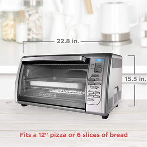 BLACK+DECKER Countertop Convection Toaster Oven