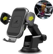 Automatic Sensor 15W Fast Wireless Charging Phone Mount