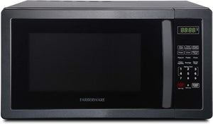 W 1.1 Cu. Ft. Stainless Steel Countertop Microwave Oven