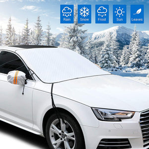 Winter Windshield Covers with 4 Layers Protection