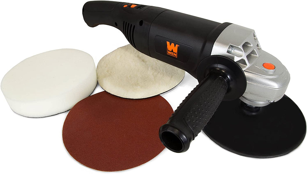 10-Amp 7-Inch Variable Speed Polisher and Power Sander with Digital Readout