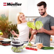 Mueller Austria Ultimate Dual Speed Pull Chopper Vegetable