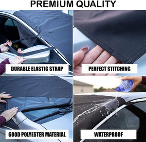 Car Windshield Snow Cover for Ice, Snow, Frost and Wiper Protector