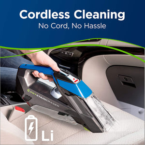 BISSELL, Latest Model Cordless Portable Pet Stain Eraser Carpet, Rug & Upholstery Cleaner.