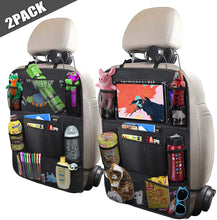 "Car Backseat Organizer with 10"" Table Holder"