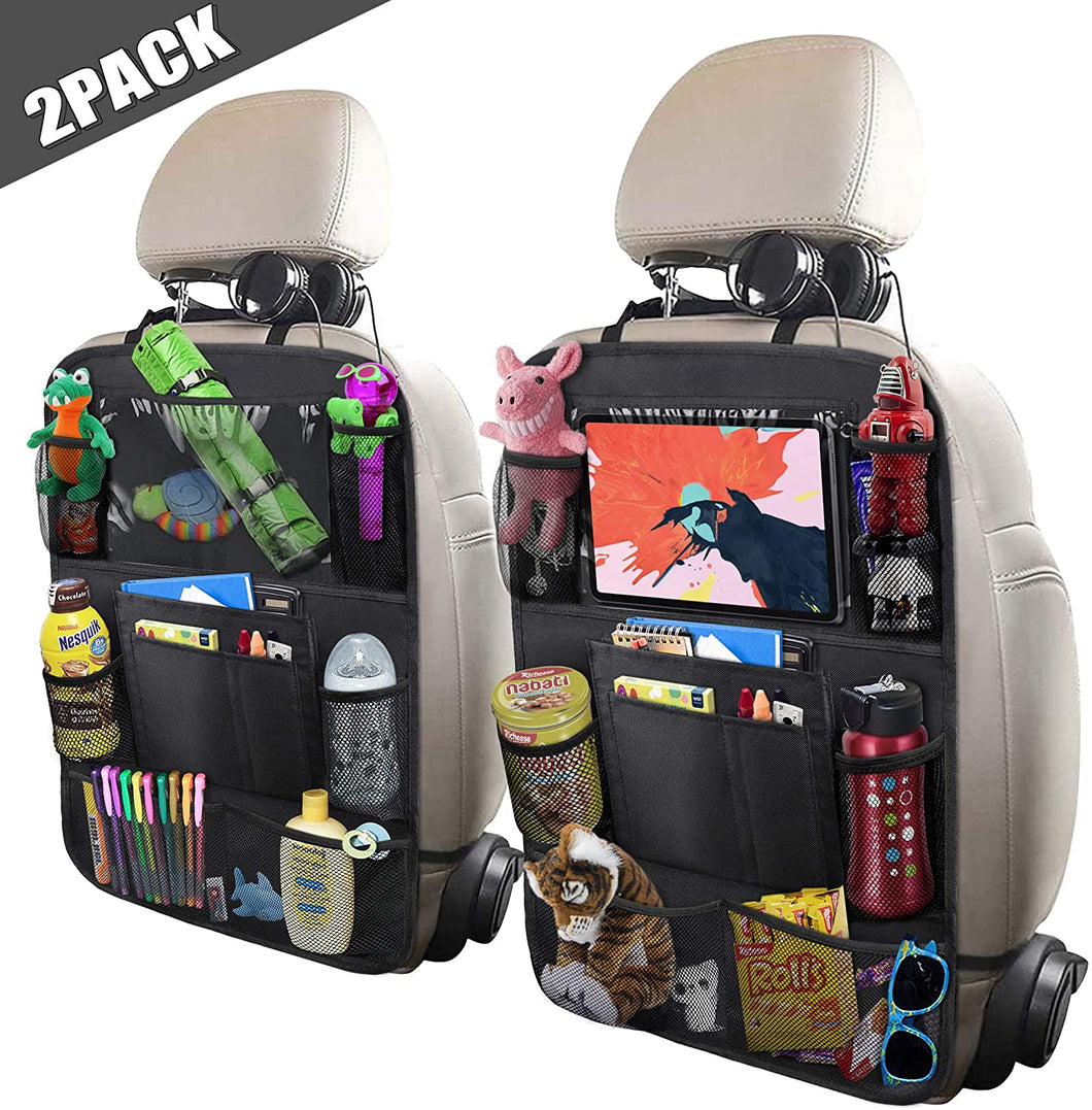 Car Backseat Organizer with 10