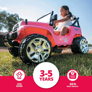 Kid Trax 4X4 Tracker Electric Ride On Toy