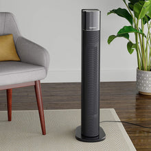 Portable Oscillating Ceramic Tower Space Heater with Remote