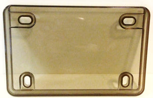 Motorcycle Clear & Smoked License Plate Covers