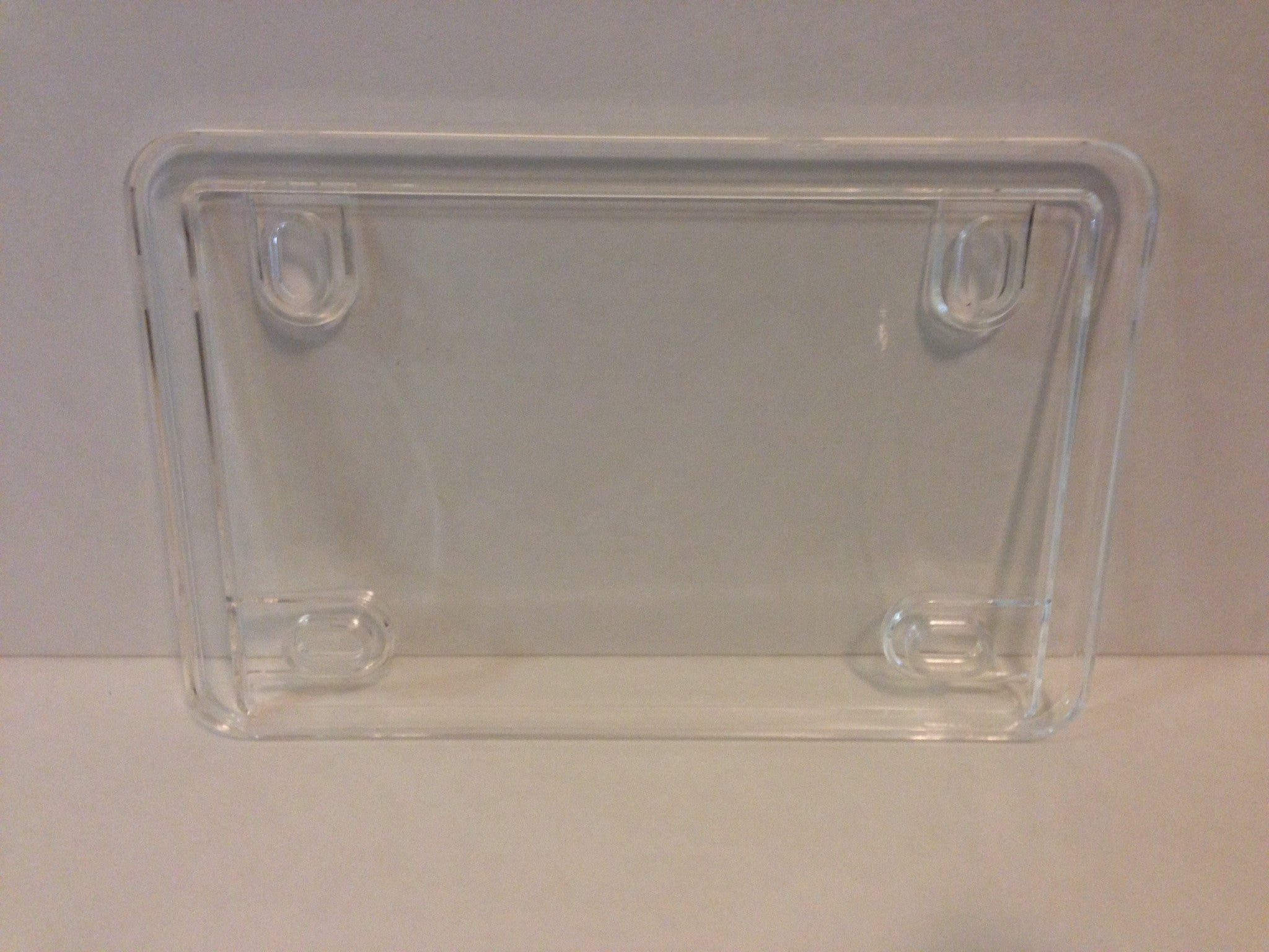 Motorcycle Clear & Smoked License Plate Cover – Phantom ...