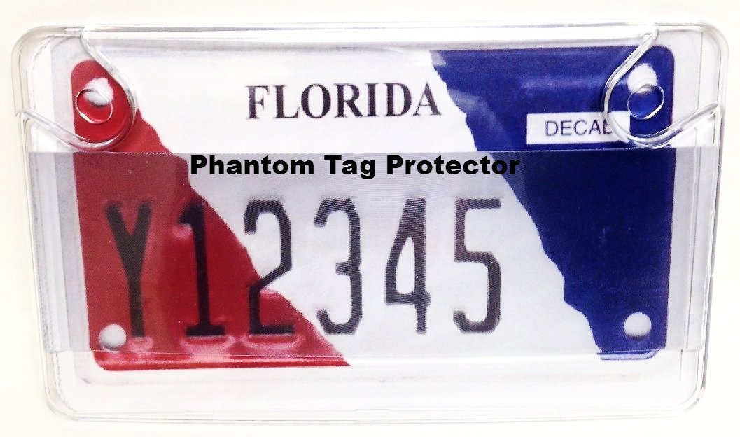 Clear Unbreakable Motorcycle Anti Photo License Plate ...