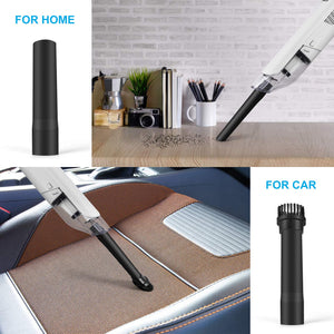 Car, home, or Office Ultra Lightweight Handheld Cordless Incredibly Quiet & Powerful Vacuum.