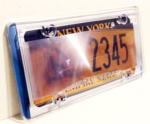 One Anti Photo Radar License Plate Cover Free Gift