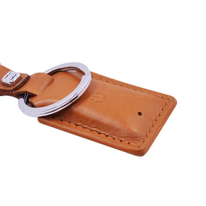 Anti Lost GPS Smart Key Ring Pet Child Bag Finder With Real Feel Durable Synthetic Leather.