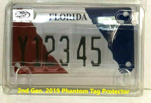 ALL-NEW 2019 2nd Gen. Motorcycle Clear License Plate Anti Photo Cover