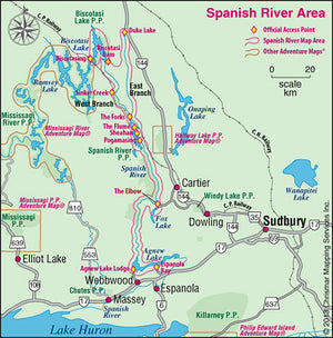 Chrismar Spanish River Map