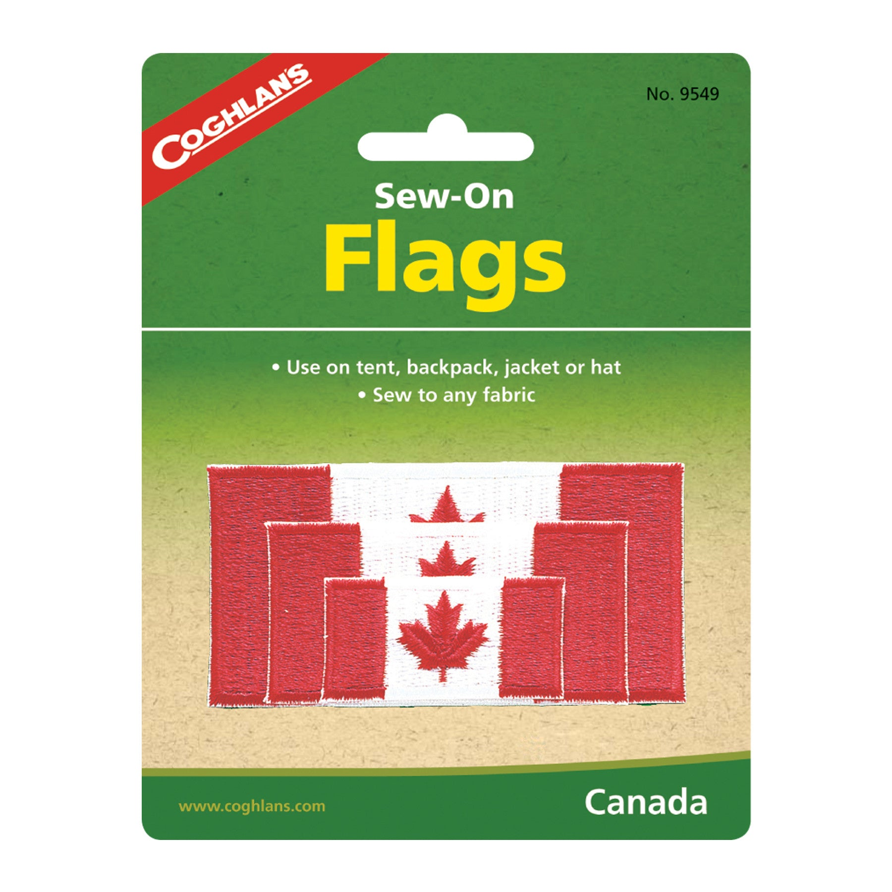Coghlan's Sew on Flags  Canada