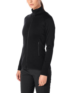Icebreaker Elemental LS Zip - Women's