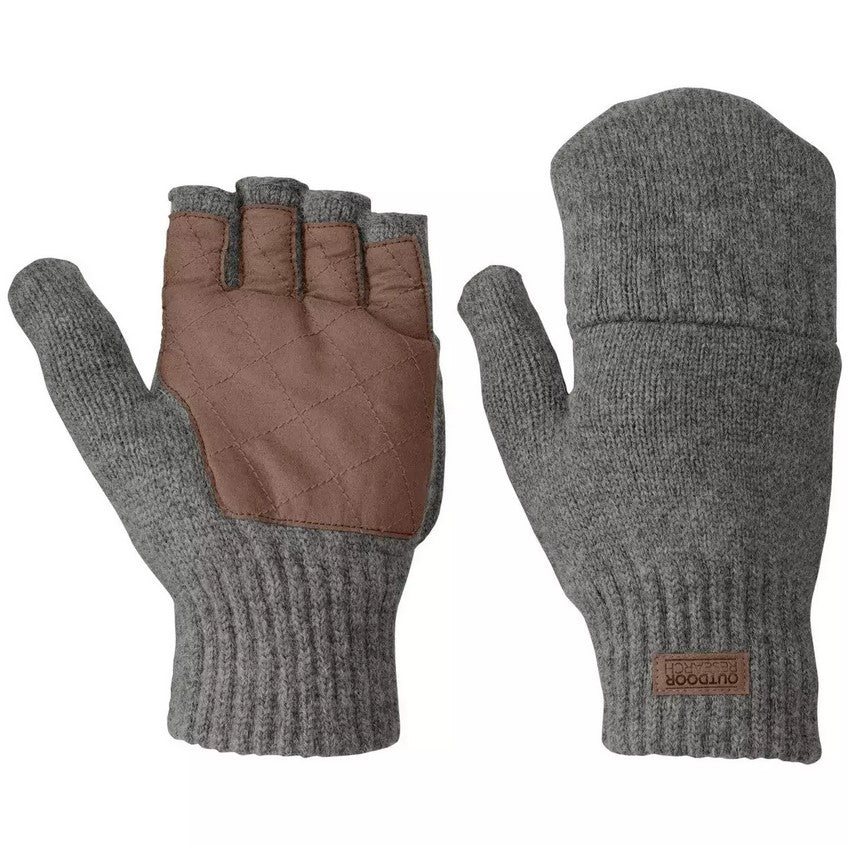Outdoor Research Lost Coast Fingerless Mitts - Men's