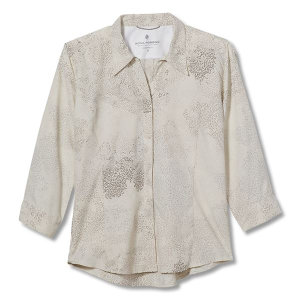 Royal Robbins Expedition Print 3/4 Sleeve - Women's