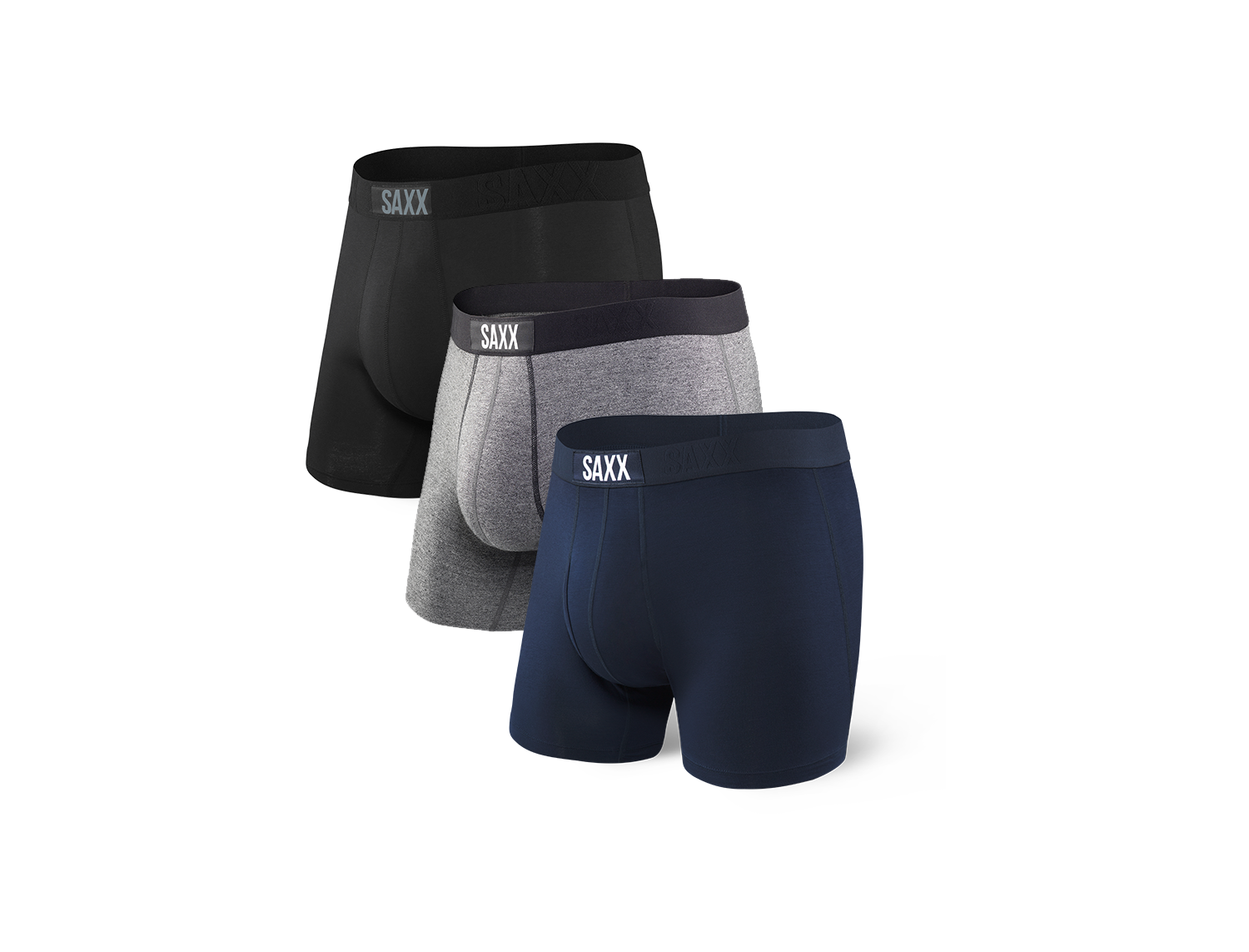 Saxx Vibe Boxer Brief - 3 Pack