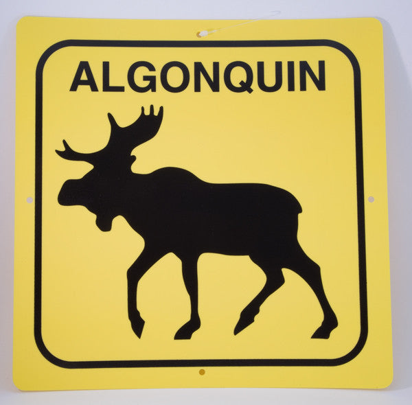 Chrismar Algonquin Moose Sign