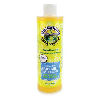 Dr. Woods Shea Vision Pure Castile Soap Baby Mild with Organic Shea Butter - 16 fl oz - {shop_name}