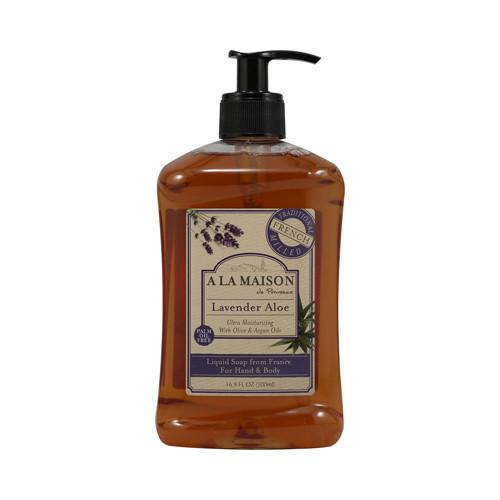 A La Maison French Liquid Soap Lavender Aloe - 16.9 fl oz - {shop_name}