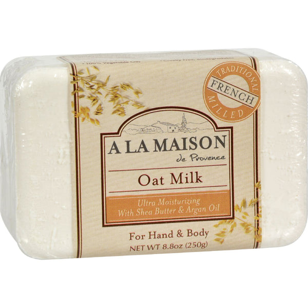 A La Maison Bar Soap Oat Milk - 8.8 oz - {shop_name}
