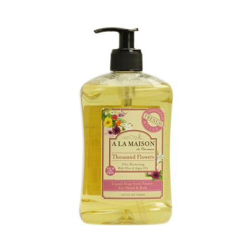 A La Maison French Liquid Soap Thousand Flowers - 8.8 fl oz - {shop_name}