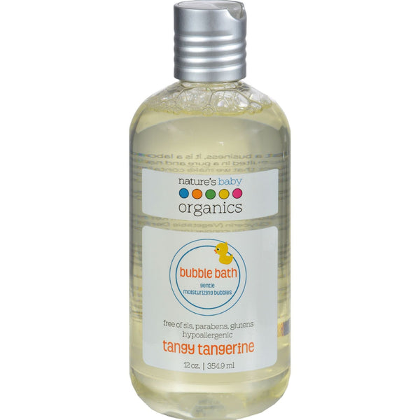 Nature's Baby Organics Bubble Bath - Moisturizing - Tangy Tangerine - 12 oz - {shop_name}