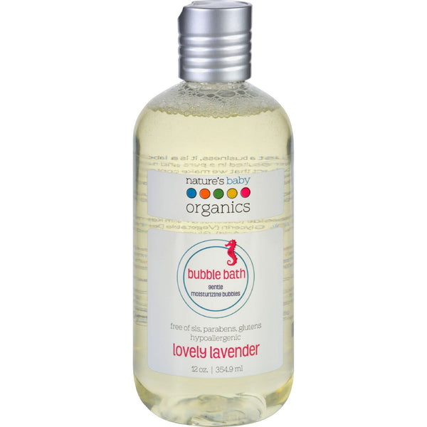 Nature's Baby Organics Bubble Bath - Moisturizing - Lovely Lavender - 12 oz - {shop_name}
