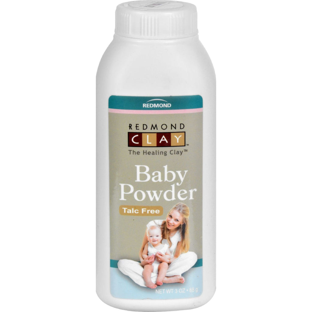 Redmond Trading Company Baby Powder - 3 oz -Baby Powder- Allergy Free Me