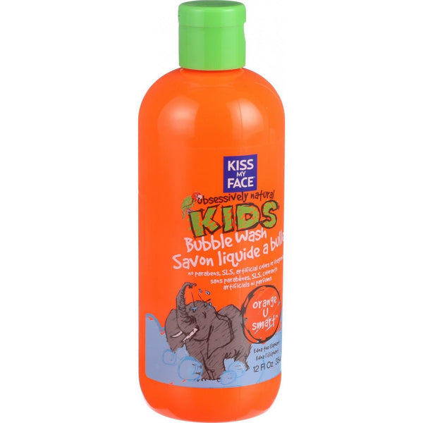 Kiss My Face Bubble Wash - Orange U Smart - Obsessively Natural Kids - 12 oz - {shop_name}