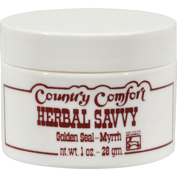 Country Comfort Herbal Savvy Golden Seal-Myrrh - 2 oz -Medical- Allergy Free Me