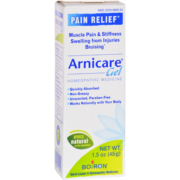 Boiron Arnica Gel - 1.5 oz -Medical- Allergy Free Me