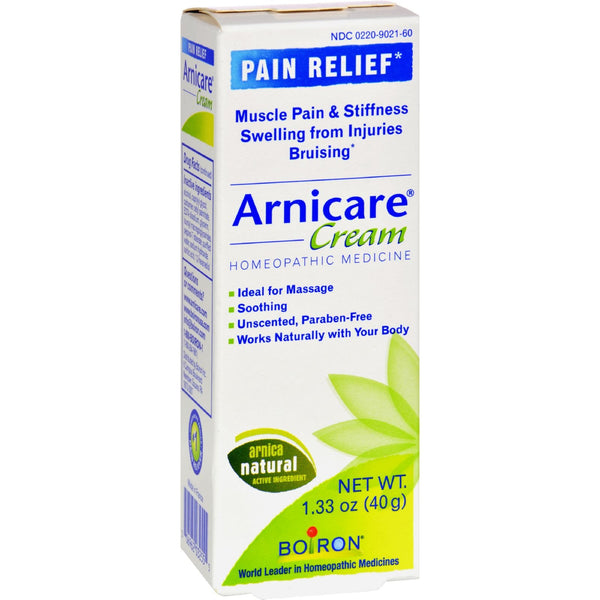 Boiron Arnica Cream - 1.33 oz -Medical- Allergy Free Me