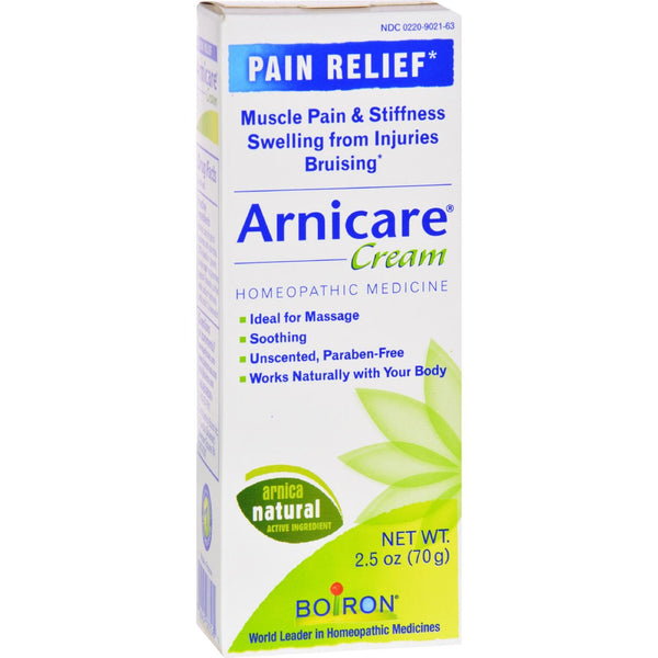 Boiron Arnica Cream - 2.5 oz -Medical- Allergy Free Me