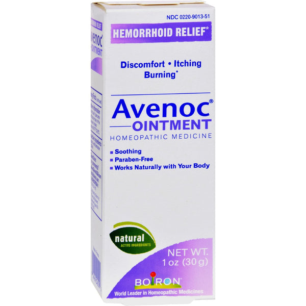 Boiron Avenoc Ointment - 1 oz -Medical- Allergy Free Me