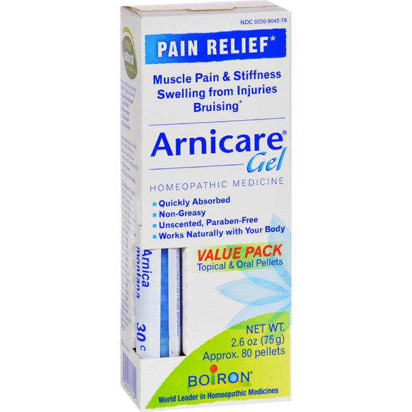 Boiron Arnicare Arnica Gel - 2.6 oz -Medical- Allergy Free Me