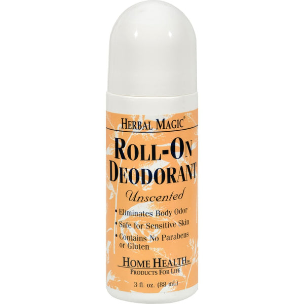Home Health Roll-On Deodorant Herbal Magic Unscented - 3 fl oz - {shop_name}